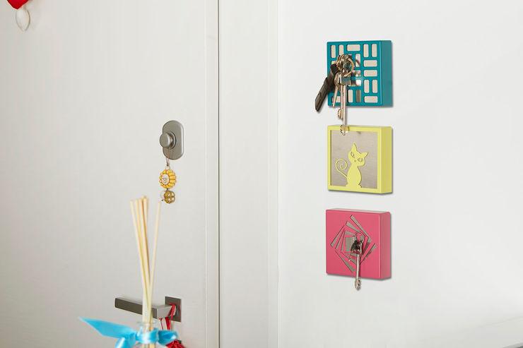 Portachiavi magnetico da parete KEY BOX Mipiacemolto CasaAccessori & Decorazioni Metallo