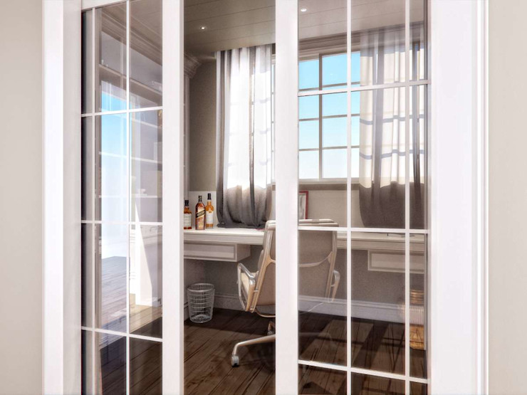 Yunus Emre | Interior Design VERO CONCEPT MİMARLIK Modern style study/office