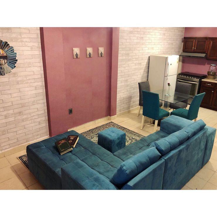 RJE005 RJE Decor Salones rurales Compuestos de madera y plástico Rosa