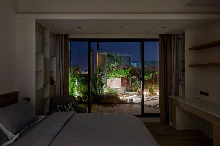 女兒房享有VIP等級的風景 大地工房景觀公司 Small bedroom
