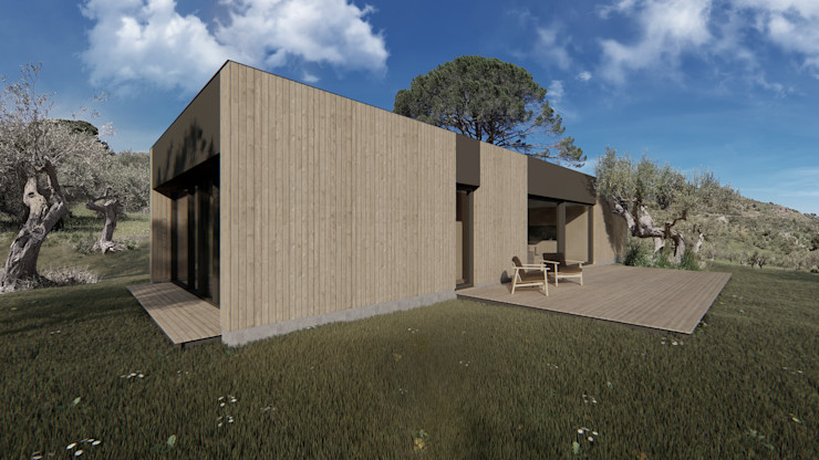 WOODEN HOUSE G|C – SICILY ALESSIO LO BELLO ARCHITETTO a Palermo Country house Wood