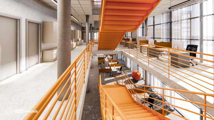 GOOD visuals Modern corridor, hallway & stairs
