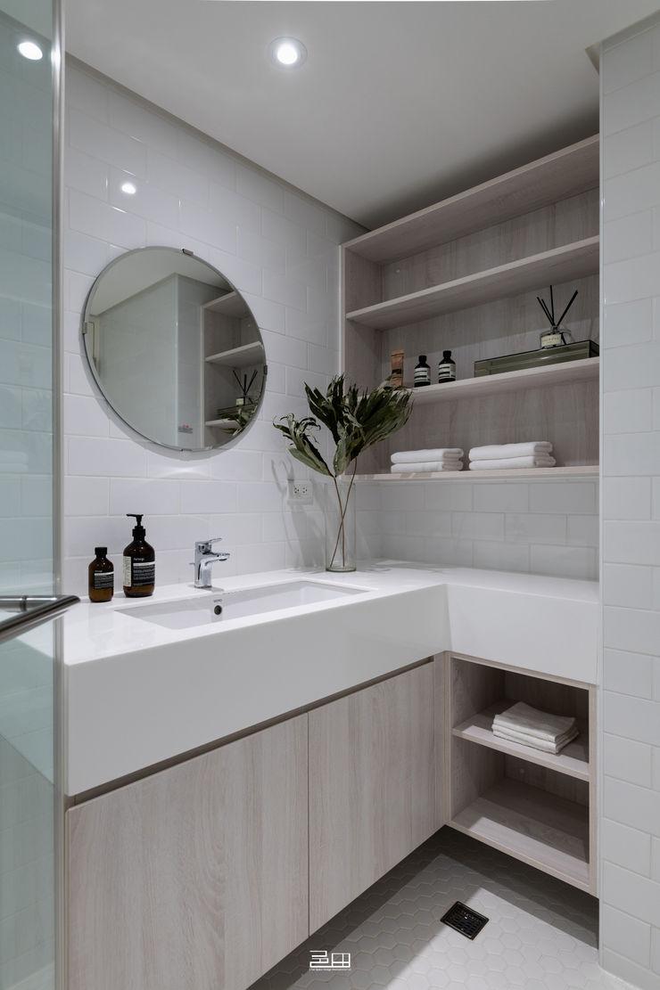 衛浴 邑田空間設計 Minimalist bathroom White