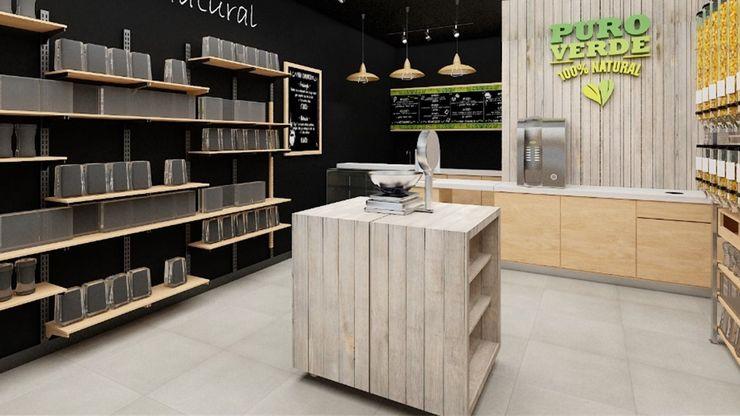 AUTANA estudio Offices & stores Wood Wood effect