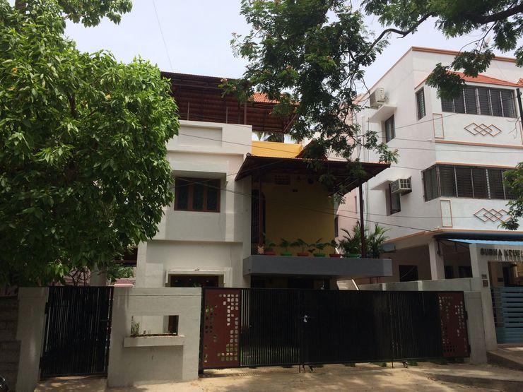 Mrs. Rajalakshmi Ramakrishnan residence The Yellow Ink Studio Bungalows