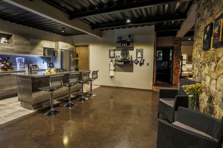 Con Contenedores S.A. de C.V. Modern Living Room