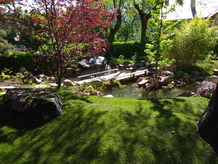 Jardin japones en cercedilla - Madrid Jardines Japoneses -- Estudio de Paisajismo Estanques de jardín
