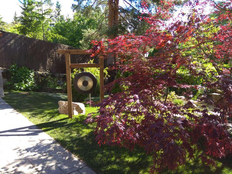 Jardin japones en cercedilla - Madrid Jardines Japoneses -- Estudio de Paisajismo Jardines japoneses