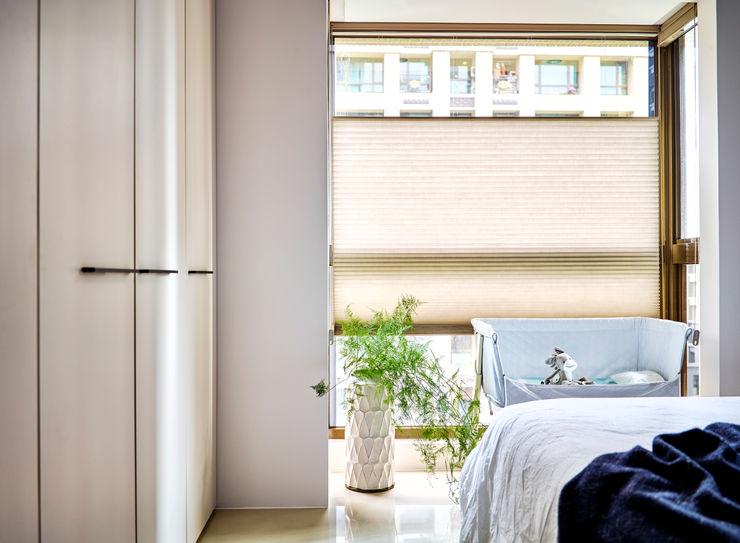 臥室 樸十設計有限公司 SIMPURE Design Minimalist bedroom