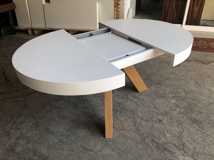 Decordesign Interiores Dining roomTables Chipboard White