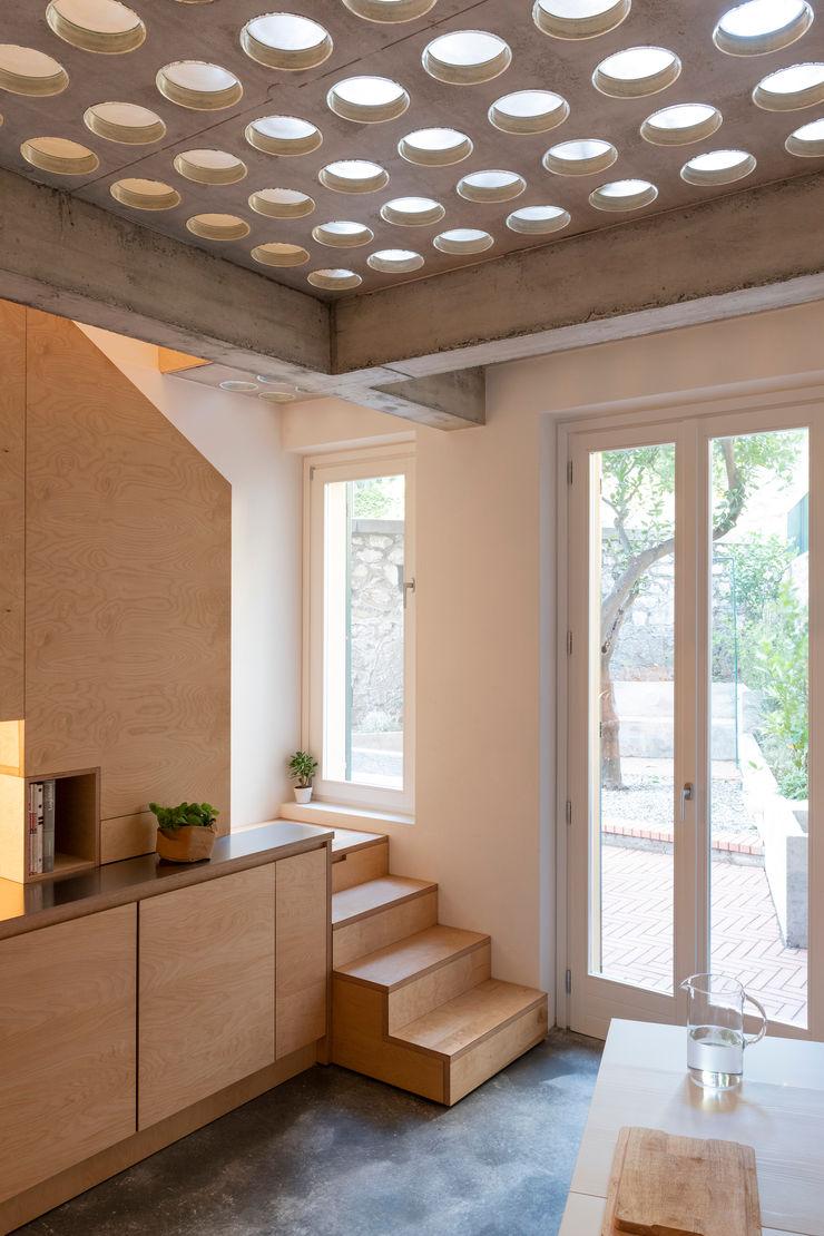 Cristina Meschi Architetto Kitchen Wood Wood effect