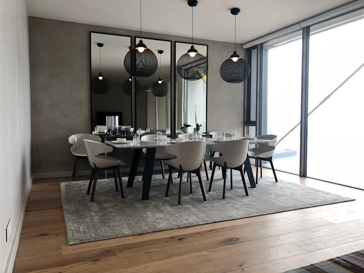 The dining area Just Interior Design Modern dining room