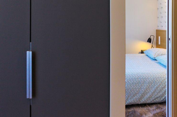 Détail - Chambre (tête de lit) Créateurs d'Interieur Petites chambres