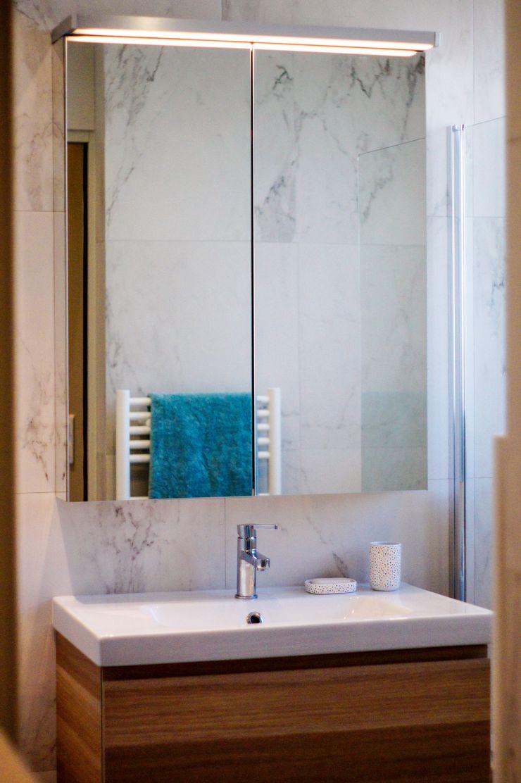 Salle de bains Créateurs d'Interieur Salle de bain industrielle