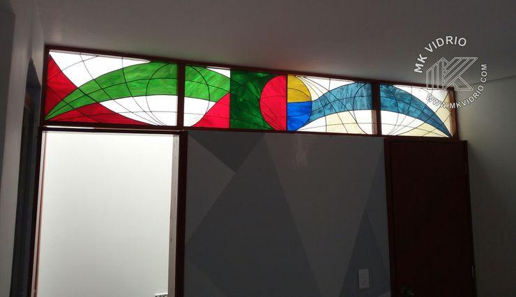 División baños MKVidrio Baños de estilo moderno Vidrio