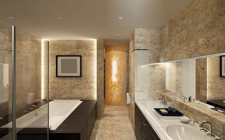 41 Yapı Bodrum 浴室