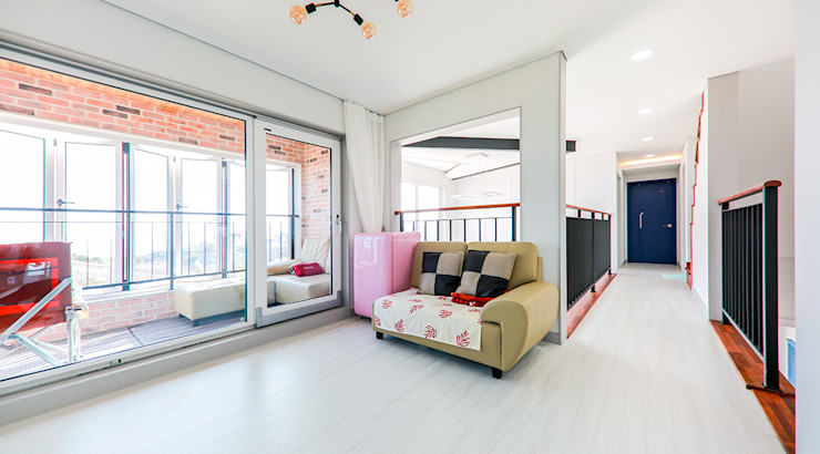 더존하우징 Modern Living Room