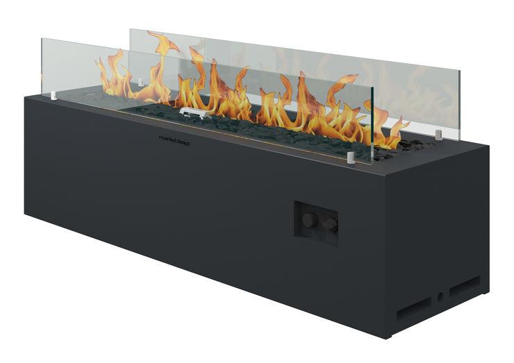 muenkel design - Elektrokamine aus Großentaft Garden Furniture