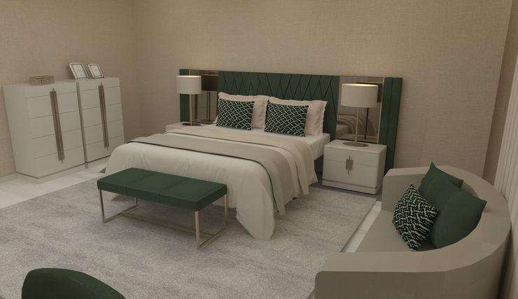 Verde... cor da esperança e do descanso! Casactiva Interiores Quartos modernos