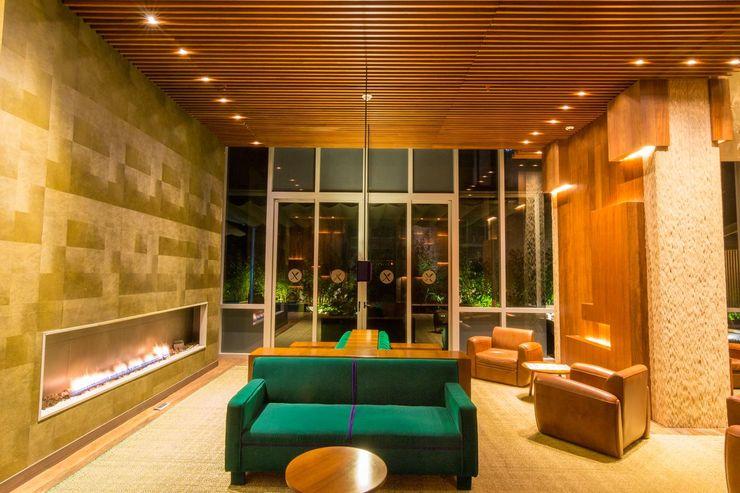 Diseño y Dotación . Hotel Bioxury. Bogota De Stefano Disegno Cuartos de estilo ecléctico
