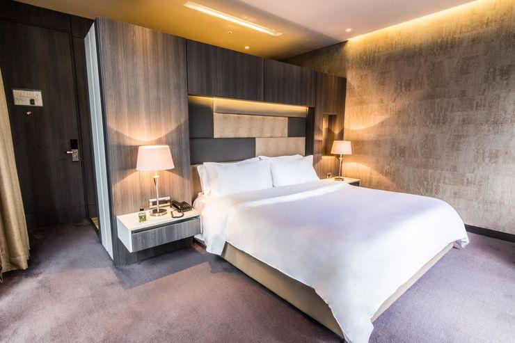 Diseño y Dotación . Hotel Bioxury. Bogota De Stefano Disegno Recámaras eclécticas