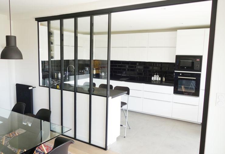 Créateurs d'Interieur Industrial style kitchen
