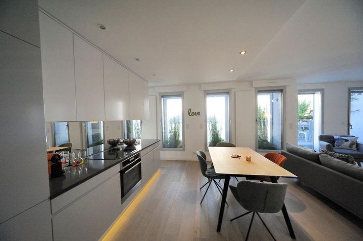 Cuisine et salle à manger Créateurs d'Interieur Salle à manger minimaliste