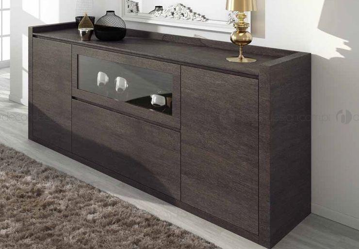 Decordesign Interiores ComedorBuffet y cómodas Aglomerado Acabado en madera