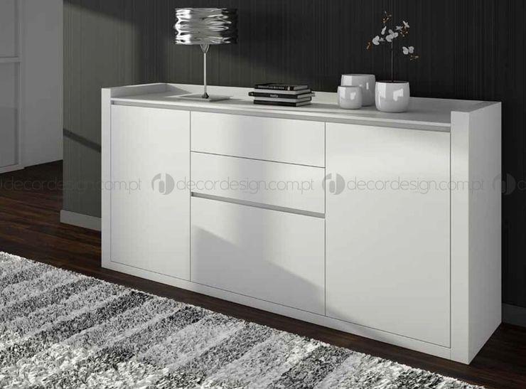 Decordesign Interiores ComedorBuffet y cómodas Aglomerado Blanco