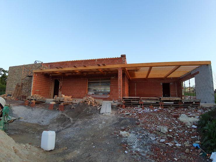 Vivienda Unifamiliar en Cabueñes, Gijón - En proyecto arQmonia estudio, Arquitectos de interior, Asturias Casas unifamilares