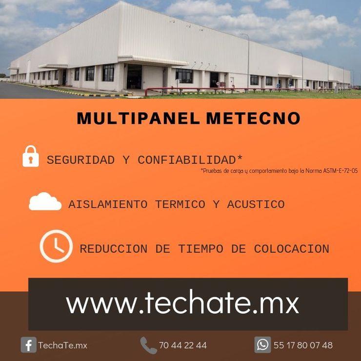 Multipanel METECNO TechaTe Techos planos