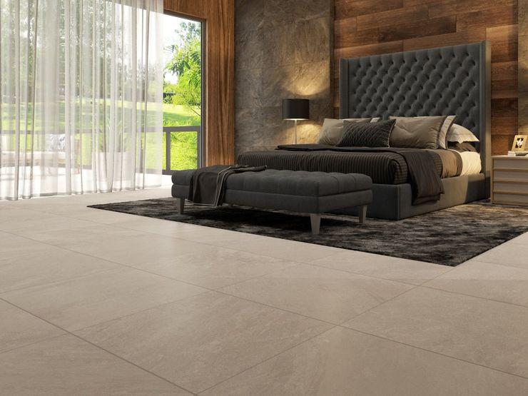 Interceramic MX Rustic style bedroom Ceramic Wood effect