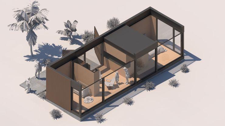 Comercial Ébano Spa Modern style bedroom