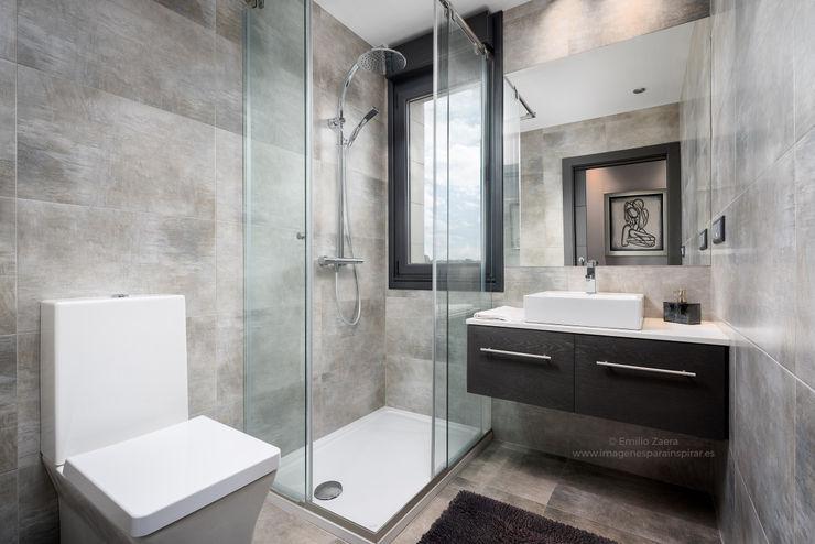 Baño. arQmonia estudio, Arquitectos de interior, Asturias Baños de estilo moderno