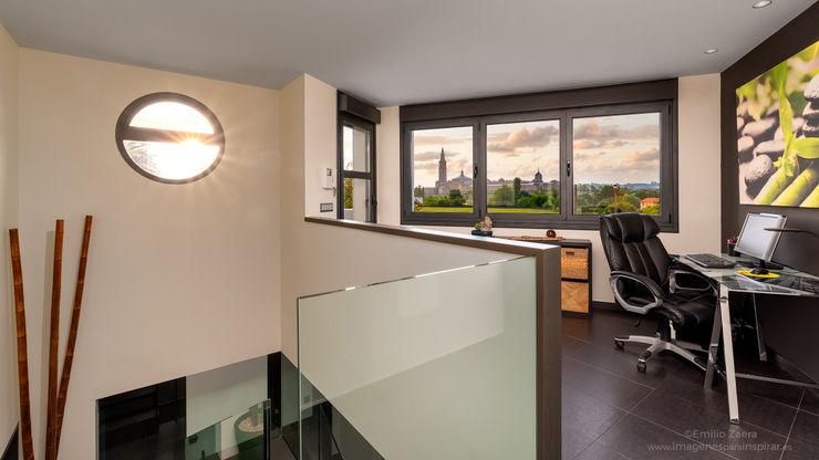 Home Office. arQmonia estudio, Arquitectos de interior, Asturias Estudios y despachos de estilo moderno