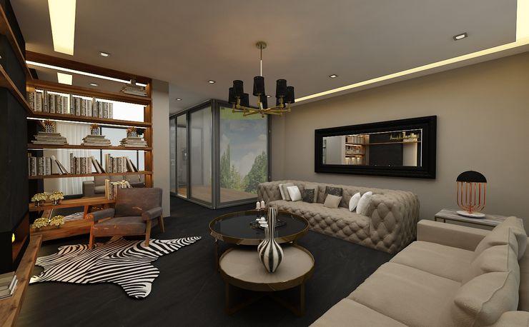 PRATIKIZ MIMARLIK/ ARCHITECTURE Living roomSofas & armchairs