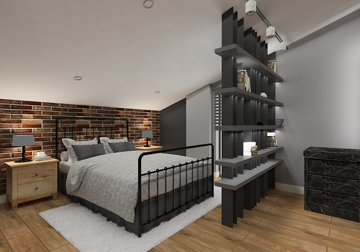 PRATIKIZ MIMARLIK/ ARCHITECTURE BedroomAccessories & decoration