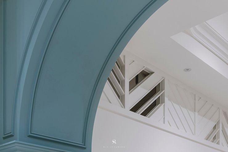 紛染.綿綿 Trochee of Tints 理絲室內設計有限公司 Ris Interior Design Co., Ltd. 牆面 合板 Blue