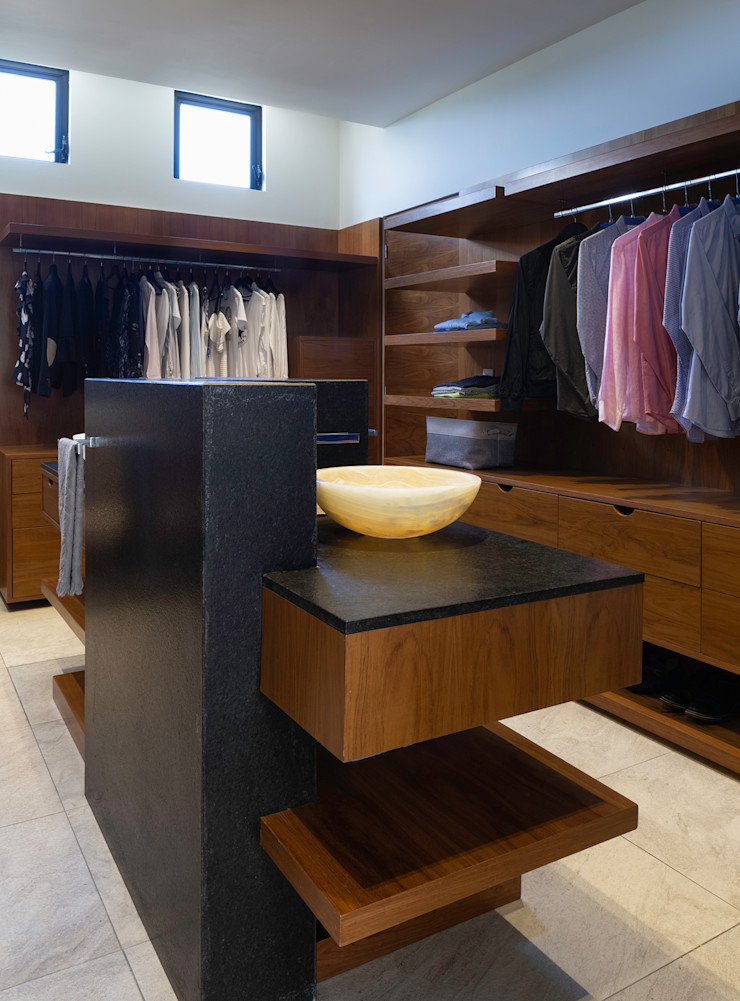 casa de la p Daniel Cota Arquitectura | Despacho de arquitectos | Cancún Modern Bathroom Wood Wood effect