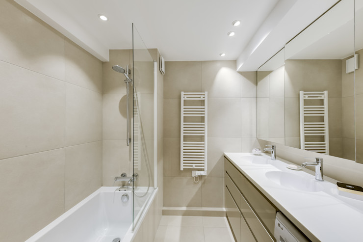 Salle de bains Créateurs d'Interieur Salle de bain scandinave