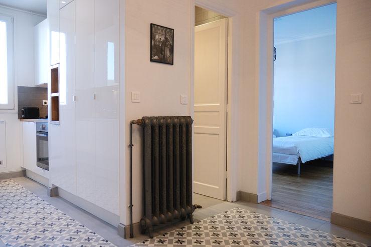 Entrée Créateurs d'Interieur Couloir, entrée, escaliers classiques