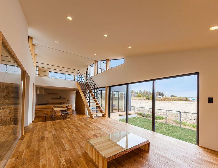 Living Room homify オリジナルデザインの リビング