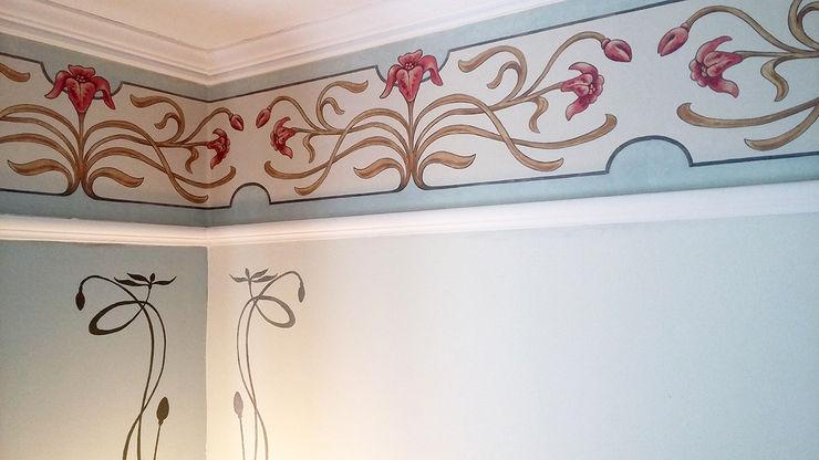 Nouveau Wallpaper Border Fiorentini Design Modern walls & floors