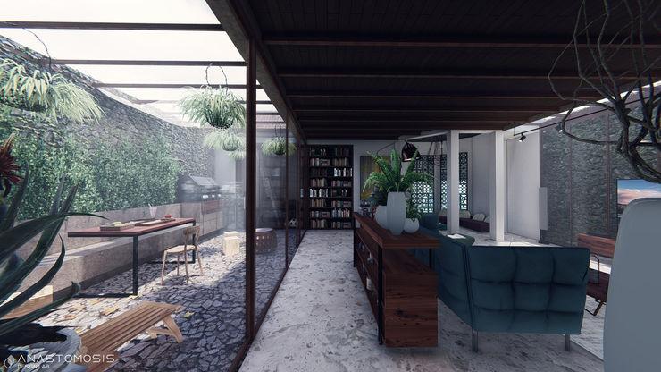 Anastomosis Design Lab Balcones, porches y terrazasMobiliario
