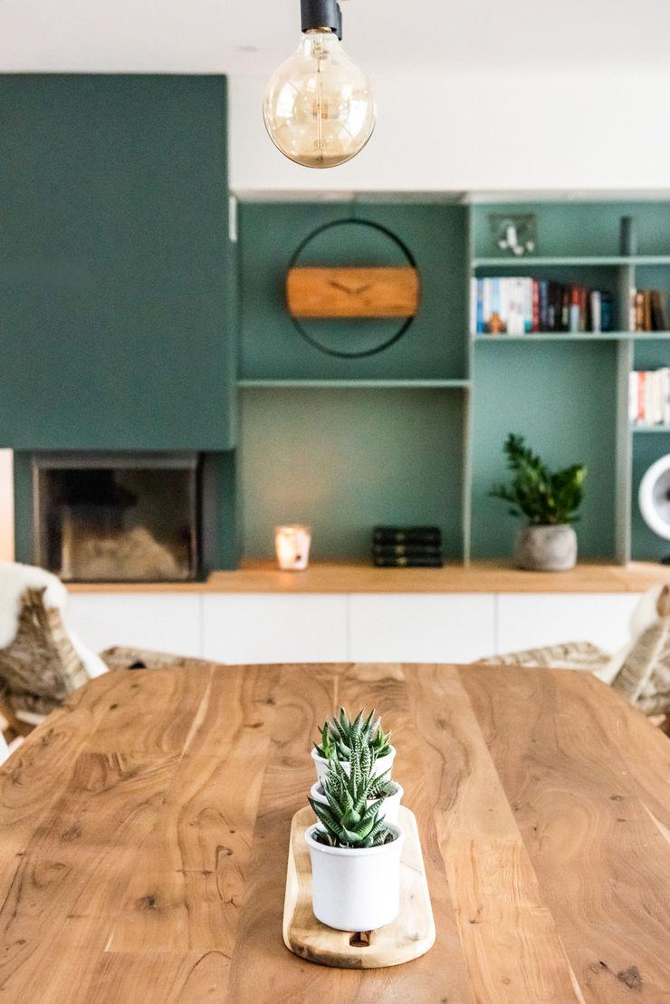 Inspiration Forestière Agence Maïlys MOUTON Salle à manger scandinave