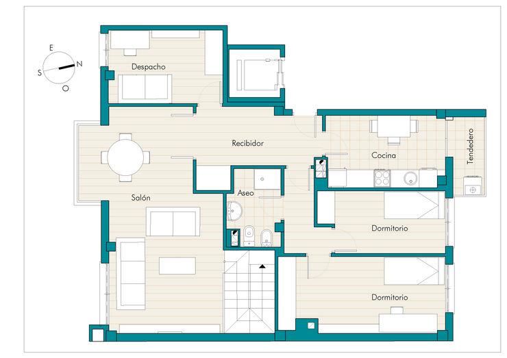 Plano para piso en Venta Photoplan3D