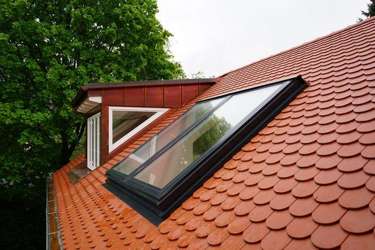 Dachfenstar Dachschiebefenster Comfort All in One DachfenStar Satteldach