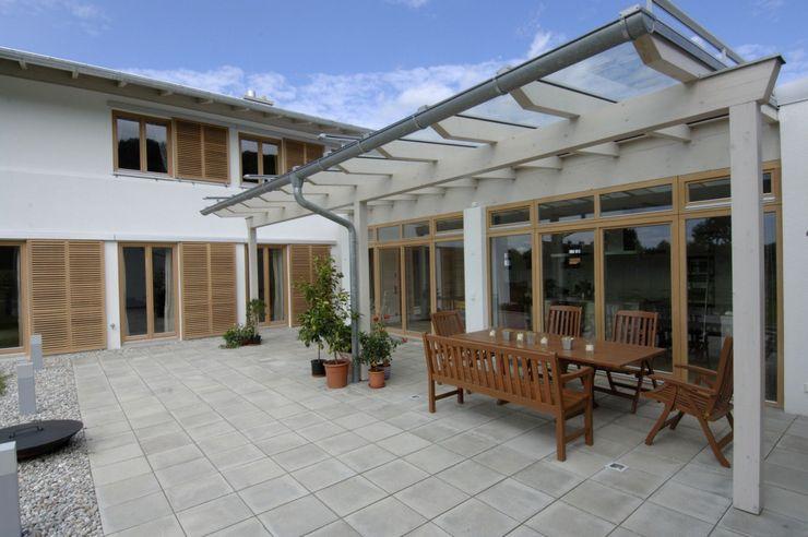 Terrasse Architekt Namberger Einfamilienhaus