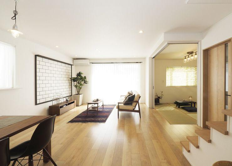 Live Sumai - アズ・コンストラクション - Living room White