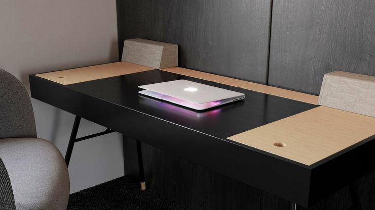 Ale design Grzegorz Grzywacz Small bedroom Wood effect